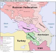 Caucasus Mountains On World Map by Caucasus Alternate History Discussion