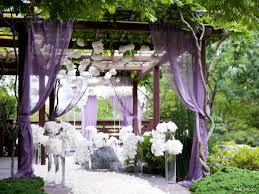 backyard wedding decorations mixed with open canopy and sweet