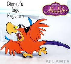 aladdin u0027s iago vinyl keychain parrot bird keyring disney vintage