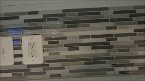 how to install a glass tile backsplash in the kitchen installing mosaic tile backsplash outlet covers for glass tile