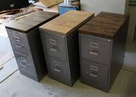 Industrial File Cabinet Desk The Incredible Along With Stunning File Cabinet Intended For