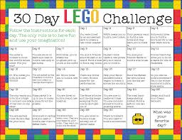 Create A Flag For Free Free Printable 30 Day Lego Challenge Instant Download Free