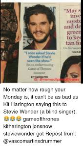 Stevie Wonder Why Is He Blind I Once Asked Stevie Wonder If He U0027d Seen The Show On An