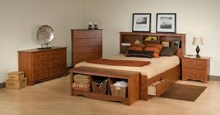 bedroom queen platform bed with storage and headboard intended for