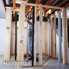 how to plumb a basement bathroom family handyman
