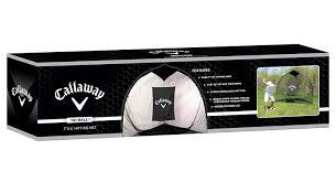 amazon com callaway tri ball hitting net 6 x 7 feet golf
