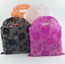 30 45cm large plastic gift bag large handle plastic gift bag