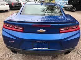 camaro for sale dallas tx 2016 chevrolet camaro lt in dallas tx llanos auto sales