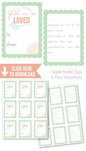 plant tag template 28 images s day plant printable gift tags