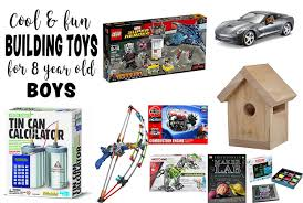 gifts for 8 year boys cool things to build best toys for