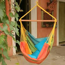 Knotted Hammock Chair Brazilian Cotton Solid Colors Hammock Chair Hayneedle