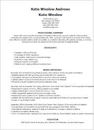 Resume Examples For Cna by Talent Specialist Cover Letter