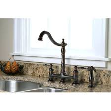 Single Handle Kitchen Faucet With Side Spray by Faucet Moen Single Handle Kitchen Faucet Leaking At Base Two