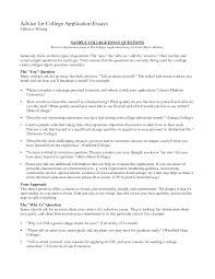 cover letter college essay example college essay example about