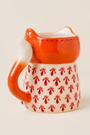 fox mug wherever you are be all there fox folk art mug francesca u0027s
