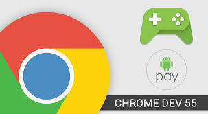 gamepad apk chrome dev 55 adds gamepad features and better android pay support