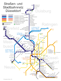 Dortmund Germany Map by Stadtbahn Dusseldorf Metro Map Germany