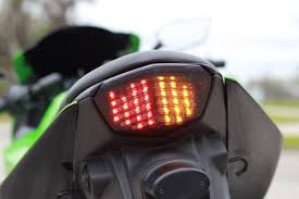 ninja 300 integrated tail light amazon com kawasaki 2008 2009 2010 2011 2012 ninja 250r integrated