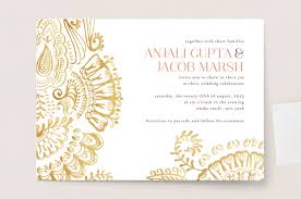 modern hindu wedding invitations modern mehndi wedding invitations by condouris on wedding