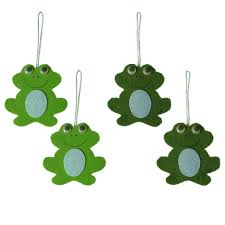 Easter Decorations For Home Aliexpress Com Buy Easter Decorations 4pcs Set Frog Easter Party