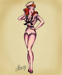 sailor pin up tattoo designs sailor zombie pinup tattoo real