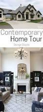 contemporary home tour design dazzle
