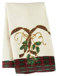 christmas towels lenox christmas nouveau christmas fingertip