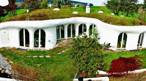 bermed earth sheltered homes fascinating underground homes hillside houses youtube