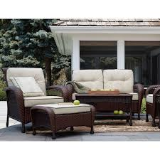 garden oasis 65 506142 4 pc resin wicker seating set