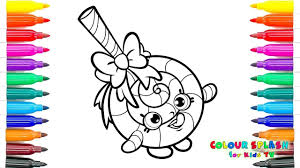 shopkins coloring pages lolli poppins crayola coloring book