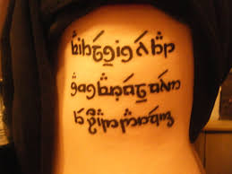 elvish tattoo by natatronic on deviantart