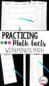 Multiplication Facts Practice Worksheets Best 25 Math Fact Practice Ideas On Pinterest Math Addition