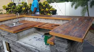 countertops outdoor wood counter top custom countertops anderson