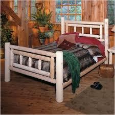 Cedar Log Bedroom Furniture by Deluxe Log Bedroom Set Bed Size King Log Cabin Bedroom