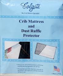 Crib Mattress Springs Colgate Crib Mattress And Dust Ruffle Protector