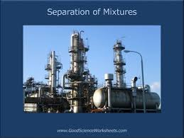 separation of mixtures presentation by good science worksheets