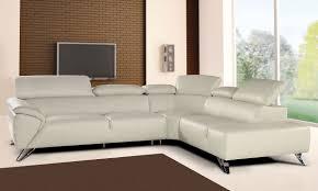 nicoletti tesla italian leather sectional sofa with adjustable