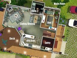 The Basic House by Mod The Sims Sunny Beach House Base Game Only