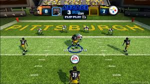 madden nfl arcade browns vs steelers hd youtube