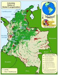 Colombia World Map by Colombia Worldmap Org
