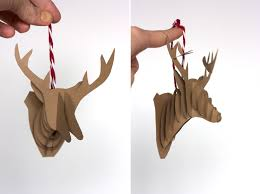 diy paper reindeer ornaments live free creative co