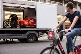 ferrari bicycle car ferrari dealership named world u0027s best gets 2015 f1 car