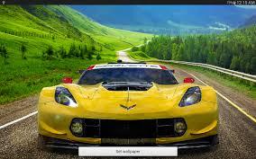 corvette racing live corvette c7 r live wallpaper android apps on play