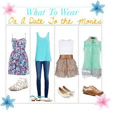 what to wear on a date to the movies polyvore