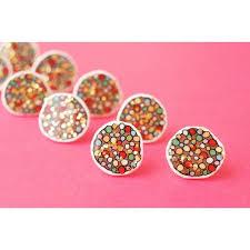 glitter stud earrings earrings freckle glitter stud earrings antipastel