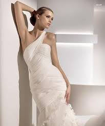 one shoulder wedding dress one shoulder wedding dresses are here to stay