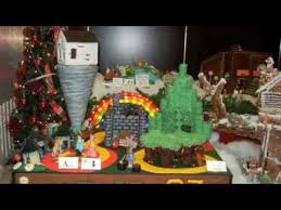 Wizard Of Oz Christmas Decorations Gingerbread Lane 2012 At The Hyatt The Wizard Of Oz Youtube