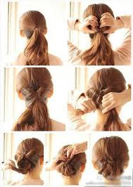 put your hair in a bun with braids simple inverted braid bun normal bun popular hairstyles and