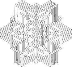 free geometric coloring pages adults fablesfromthefriends