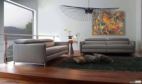 canape relax design contemporain canap avec mridienne cuir et tissu design jpg